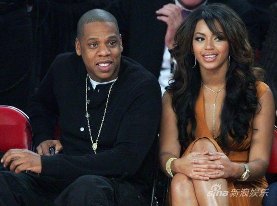 碧昂斯与老公Jay-Z