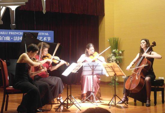 法国顶级人体艺术_首届白鹿法国古典音乐艺术节彭州举行