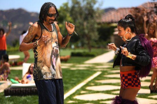 吉克隽逸与Snoop Dogg