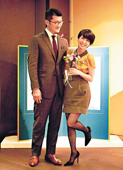 许茹芸与韩籍老公上月已结婚