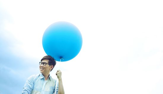 如何系气球 步骤图解