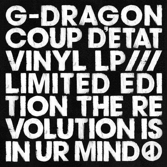 ��gd�gd�(�9/d_gd推8888张《coup d\'etat》限量黑胶唱片