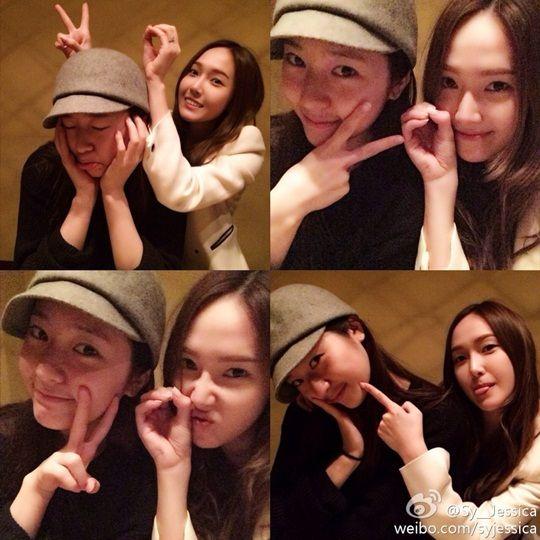 少女时代成员Jessica、f(x)成员Krystal