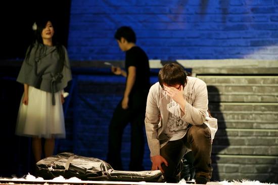 图文:小柯音乐剧二轮首演--我的爱成全了别人