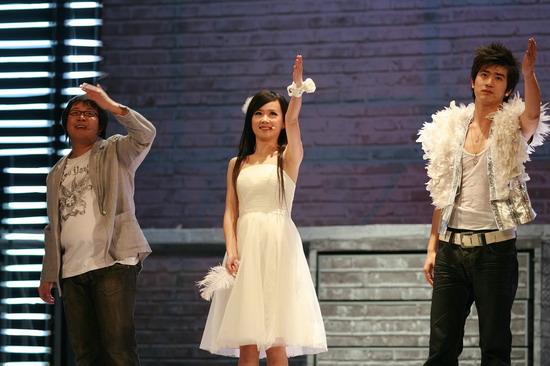 图文:小柯音乐剧二轮首演--想把我唱给你听