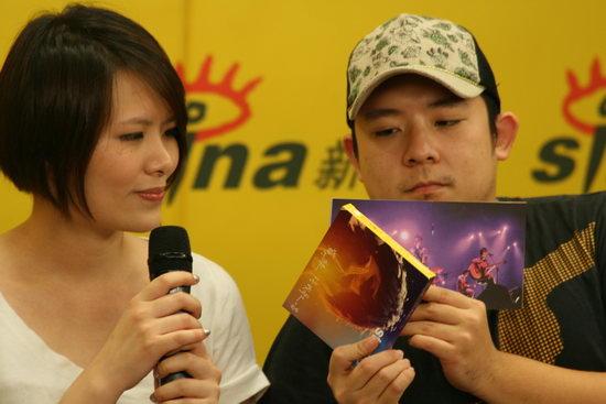 图文:苏打绿独家做客--双CD记录Live点滴