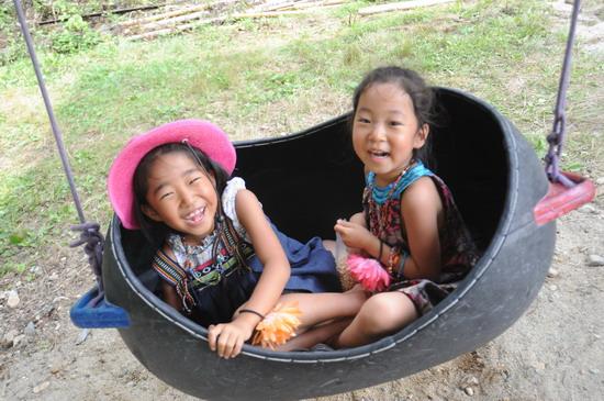 图文:富士音乐节第三天--快乐的孩子