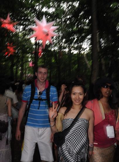 图文:富士音乐节第三天--魔幻森林