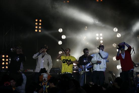 图文:MTV亚洲大奖颁奖礼-ProjectEAR表演