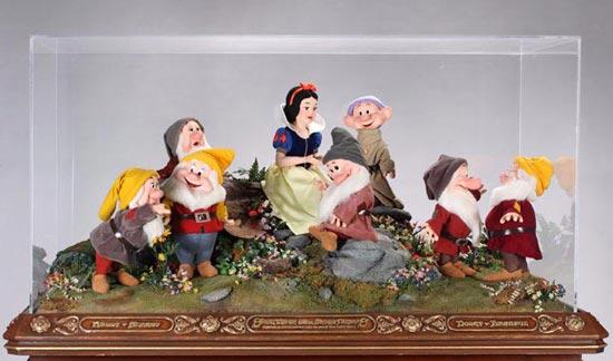 图文:杰克逊拍卖大全--白雪公主和小矮人