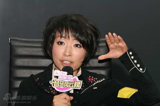 图文:反哺歌坛合辑计划启动--陈琳发言