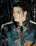 组图:世界各地粉丝笔下的迈克尔-杰克逊
