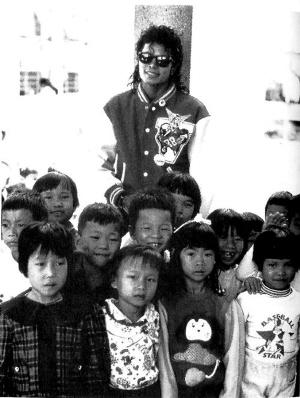 杰克逊22年前曾访孙中山故居(组图)