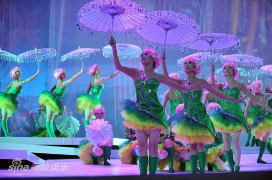 图文:祖海演唱会--华丽的伴舞