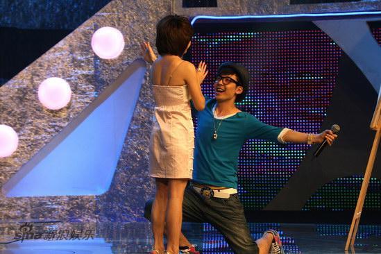 图文:麦克达人-赵旺与朱莎的甜蜜一刻