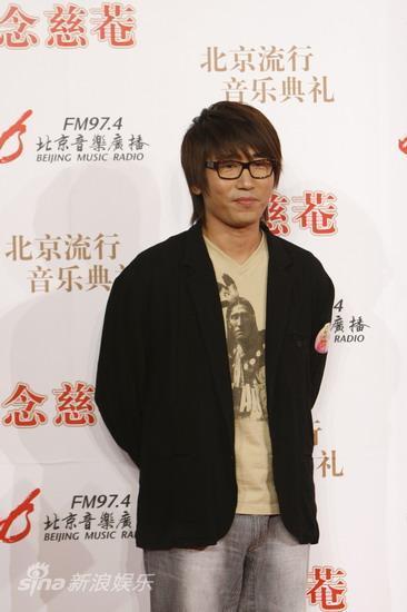 图文:09北京流行音乐典礼-沙宝亮