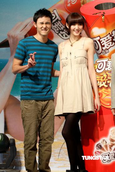 """> 正文    新浪娱乐讯 2010年3月16日北京 """"可爱多""""男生阮经天人气高"""