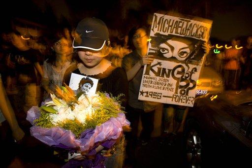 图文:杰克逊的最后30个瞬间-全球范围的纪念活动