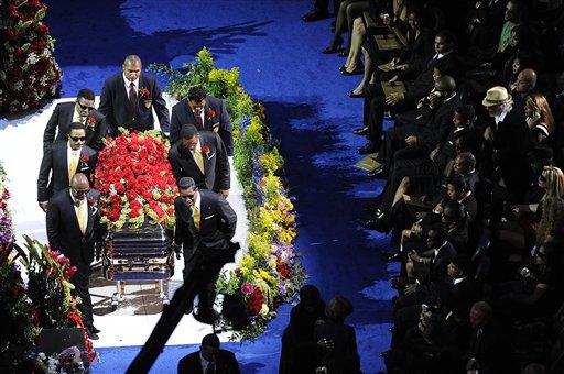 图文:杰克逊的最后30个瞬间-追悼会
