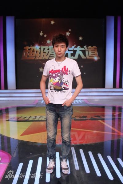 图文:超级星光大道招募-王博文