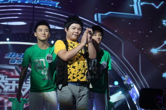 图文:快乐男声比赛-说唱歌手
