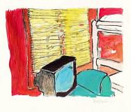 帆布上的民谣――鲍勃-迪伦丹麦办画展(组图)