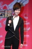 组图:2011音乐风云榜年度盛典后台星光熠熠