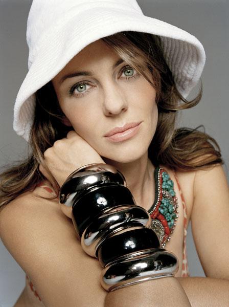 图文:伊丽莎白-赫莉写真--绿色眼睛