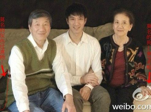 """网曝王力宏全家福""""原图"""""""