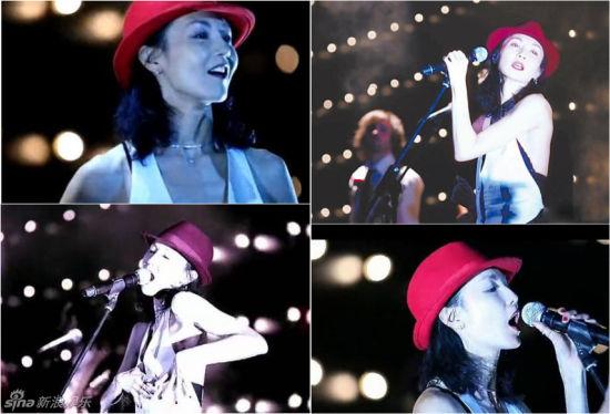 张曼玉曾在时尚活动上献唱