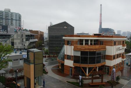 温哥华案例馆展示了木结构房屋的环保与经济性