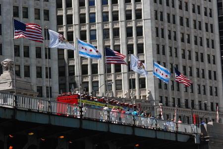 芝加哥市旗上的星星,记载了城市的足迹