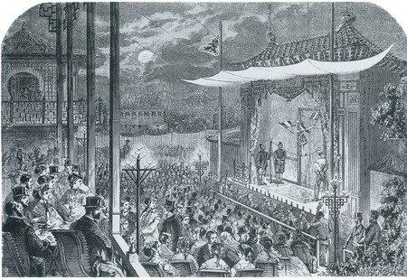 1867年,中国戏剧表演轰动巴黎世博会