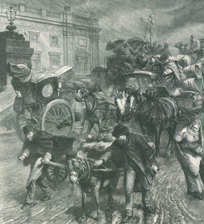 1867年,风雨飘摇的巴黎街头