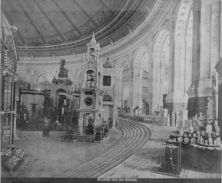 1873年维也纳世博会工业宫