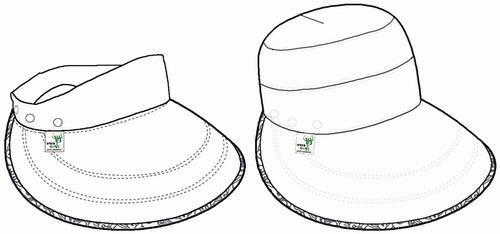 世博会徽-可脱卸空顶帽