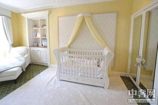 清新风格婴儿房