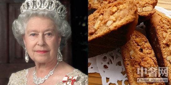 女王钟爱健康天然食品,胡桃面包就是她常吃的主食