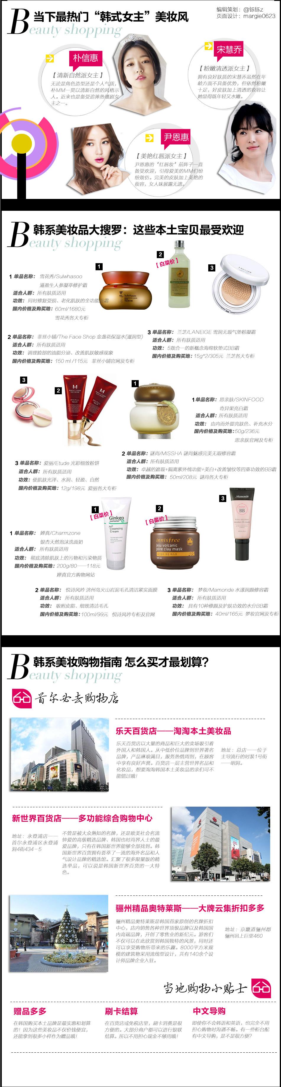 玩转美貌style 经典韩系美妆品购物指南_新浪时尚_新浪网