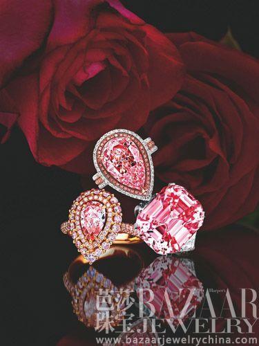 【新珠宝】钻石之王的艳粉传奇 看粉钻刷新拍卖神话