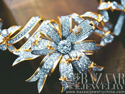 【新珠宝】东西方珠宝派别不同 花卉造型不同流
