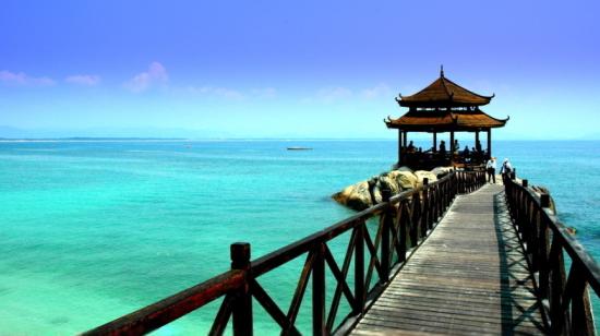 蜈支洲岛的魅力实际不仅在于海滩