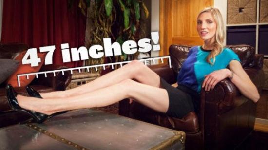 119厘米的大长腿