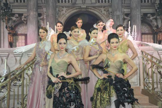 【新珠宝】海瑞温斯顿赞助2014香港癌症基金会慈善餐舞会