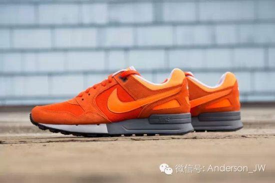 运动鞋:白色是潮流,橙色才是王道
