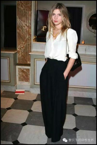 女演员、模特Clemence Poesy,法国新生代时尚偶像