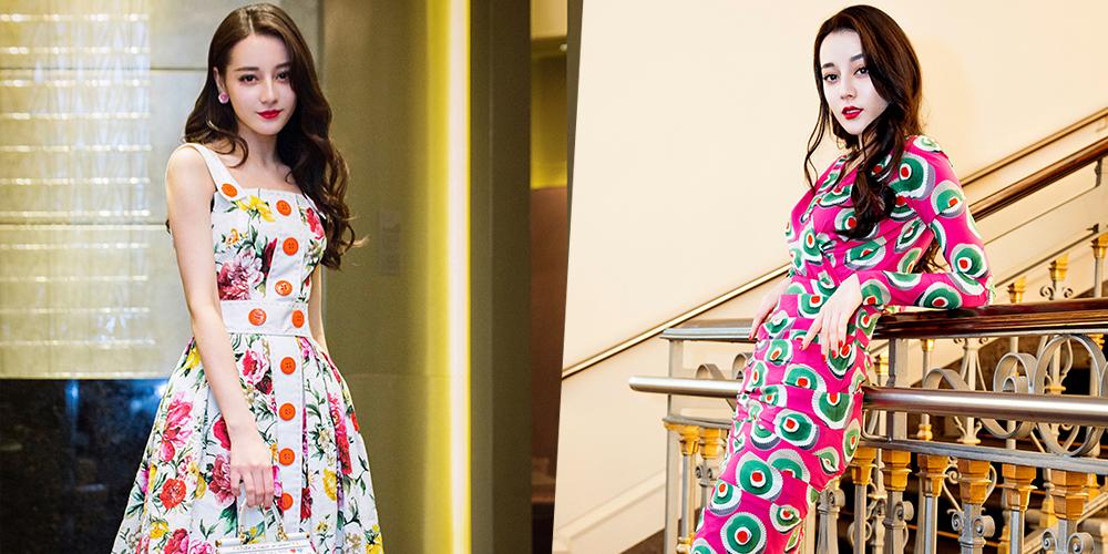 百搭星君第二十四期:迪丽热巴意式美裙的致命吸引力