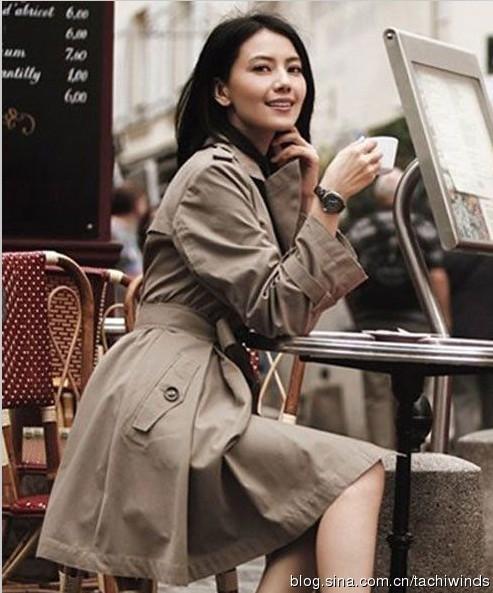 秋季风衣搭配指南:卡其色大衣的n种搭配style