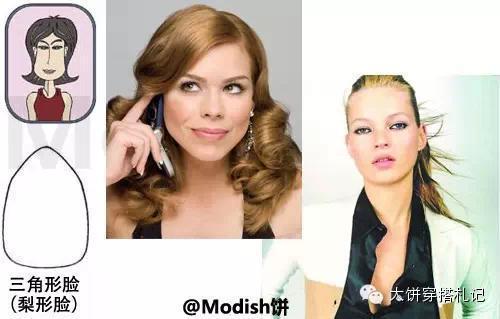 【复习。五部曲】你是什么脸型 你造么 - Modish饼 - Modish饼s STYLE BLOG