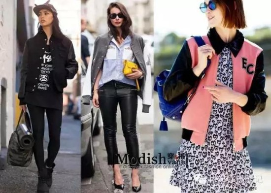 【风格单品】棒球外套如何穿与选?从学生姑娘到熟女各不同。 - Modish饼 - Modish饼s STYLE BLOG